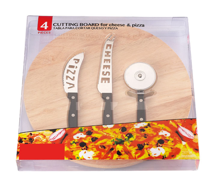 4PCS CHEESE & PIZZA SET